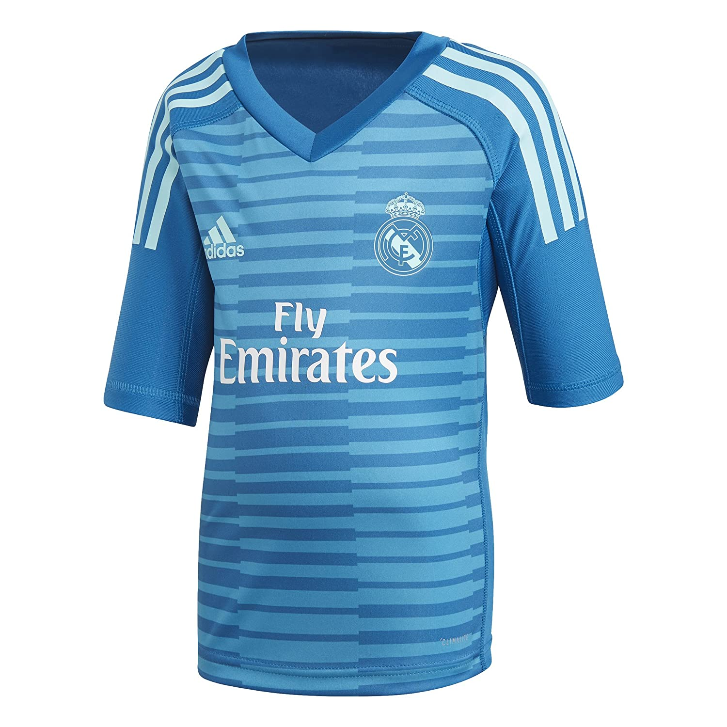 d27ff6a20e1 adidas 2018-2019 Real Madrid Away Goalkeeper Mini Kit  Amazon.co.uk  Sports    Outdoors