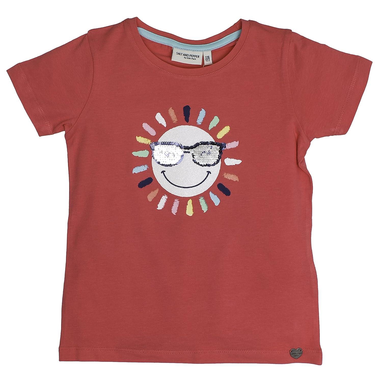 T-Shirt Fille Salt /& Pepper Sunny Day Pailetten