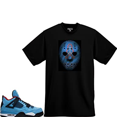 00219aac11730e We Will Fit Shirt Match Lebron 15 Jordan 4 Cactus Jack Travis Scott Oilers  (Small