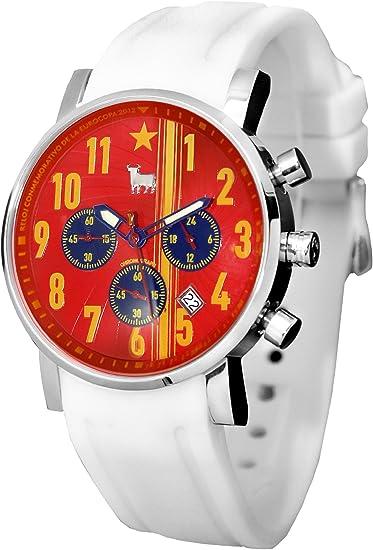 Reloj Toro Watch TO-1210-2 Furia ROJA CRONOGRAFO O Correa ESPAÑA ...