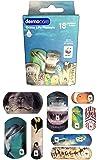 Dermocare tiritas con decoraciones del océano WWF.