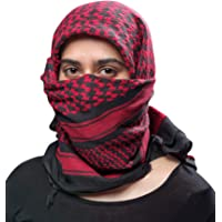 Outdoor Hiking Shemagh Military Tactical Desert Keffiyeh Cotton Light Weight Protective Fashion Face Head Covering Scarf