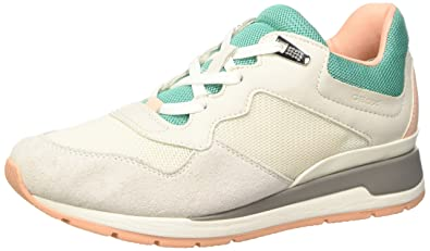 9f97e3ffaa431 Geox Shahira B, Baskets Basses Femme  Amazon.fr  Chaussures et Sacs