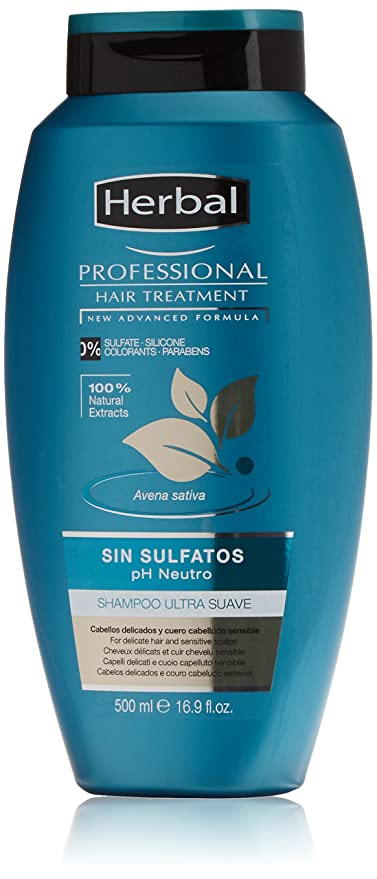 Herbal Professional Treatment Champú sin Sulfatos - 500 ml