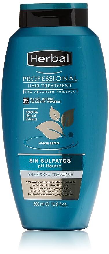 Herbal Professional Treatment Champú sin Sulfatos - 500 ml