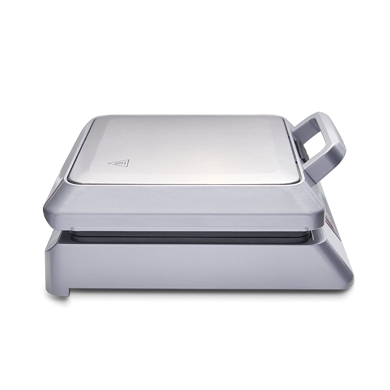 Heska 4 Slice Non-Stick Coating with Automatic Temperature Control 1200W Belgian Waffle Maker Iron Machine Maker