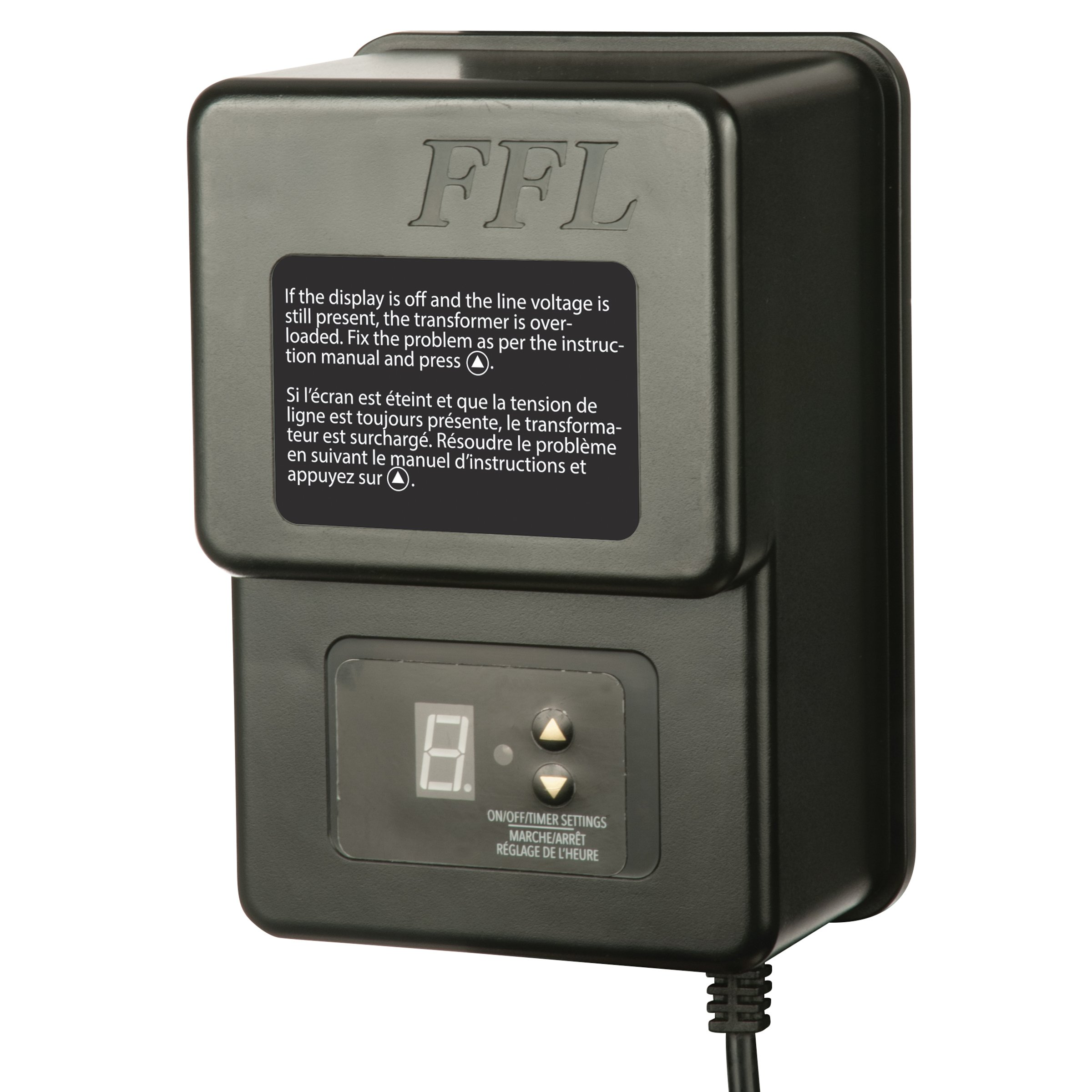 Sterno Home 200W Transformer with 5.9' Power Cord