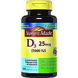 Nature Made Vitamin D3 1000 IU Softgels 100 Ct (Packaging may vary)
