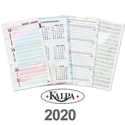 Kalpa Dreamnote - Papel de recambio para agenda personal (6 ...