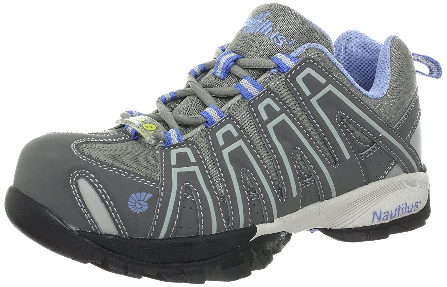 Amazon.com: Nautilus 1391 Women's ESD Comp Safety Toe No Exposed Metal  Athletic Shoe: Shoes