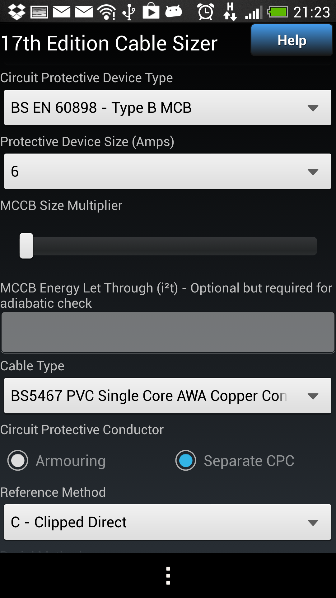 17th Edition Cable Sizer Appstore For Android Wiring Regulations Book Free Download Watch Video