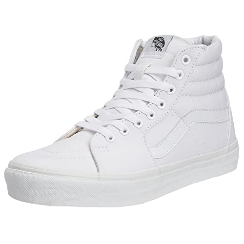 vans chaussures high tops blanc