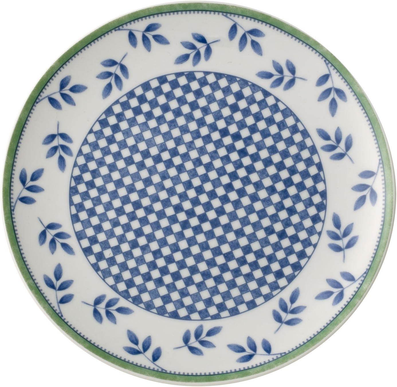 Blanc//Bleu//Vert Villeroy /& Boch Switch 3 Castell Assiette /à dessert Porcelaine 20 cm