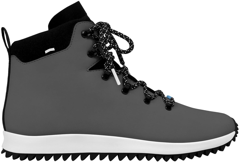 native Men's Ap Apex Ct Rain Boot B0182NH1E4 8 B(M) US Women / 6 D(M) US Men|Dublin Grey/Shell White/Jiffy Black Rubber