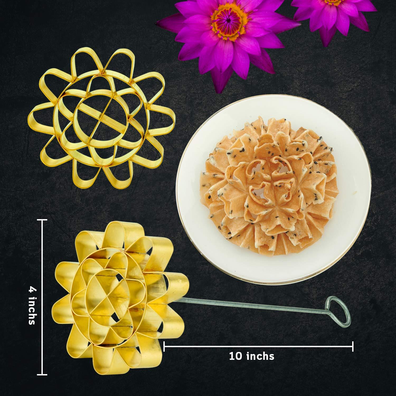 Amazoncom Ddpremium Dok Jok Brass Mold Stylist Thai Sunflower