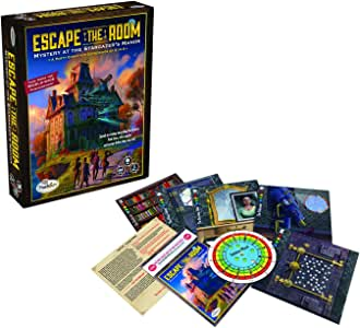 ThinkFun Escape the Room Stargazer's Manor - An Escape Room Experience in a Box For Age 10 and Up