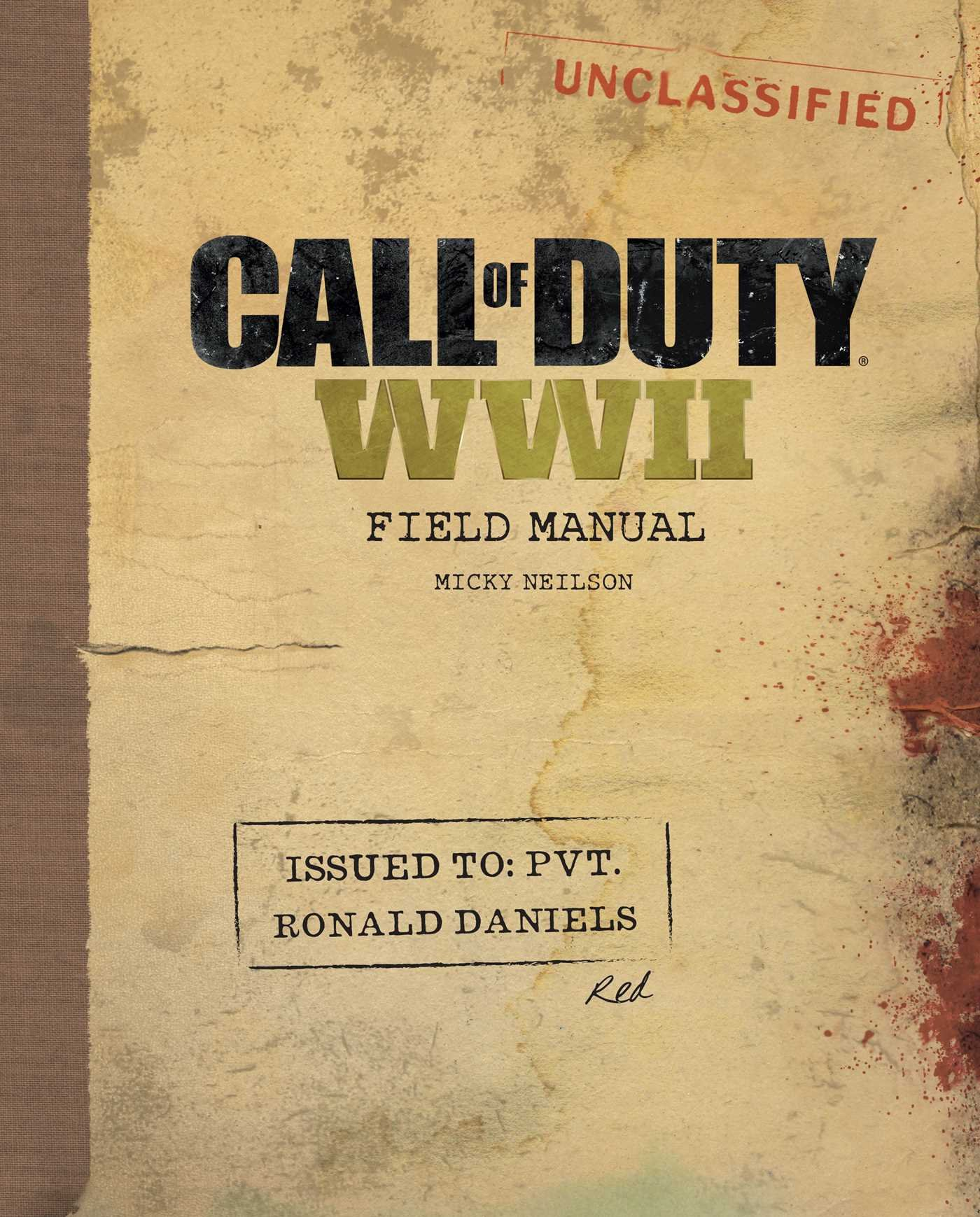 Call Of Duty WWII. Field Manual: Amazon.es: Neilson, Micky ...