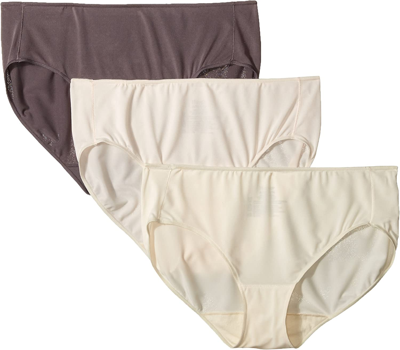 Hanes Women/'s Microfiber Brief Multipack