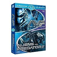 Aliens vs Predator saga completa (Versión extendida) [Blu-ray]
