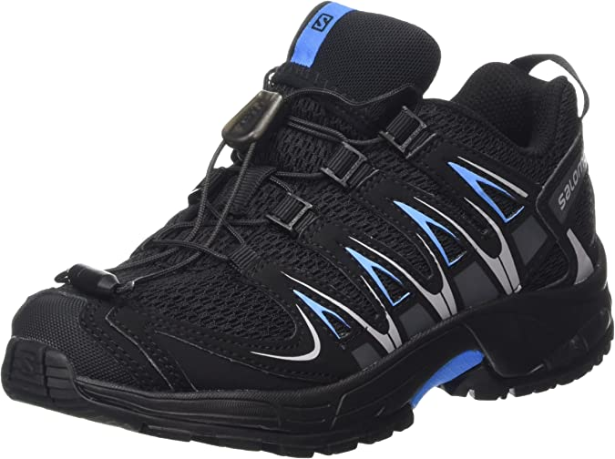 Salomon XA Pro 3D J, Zapatillas de Running para Niños, Gris (Black/Black/Freedom Blue), 32 EU: Amazon.es: Zapatos y complementos