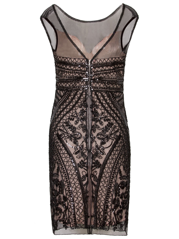 895d22e9 Vijiv 1920s Short Prom Dresses V Neck Inspired Sequins Cocktail Flapper  Dress < Dresses < Clothing, Shoes & Jewelry - tibs