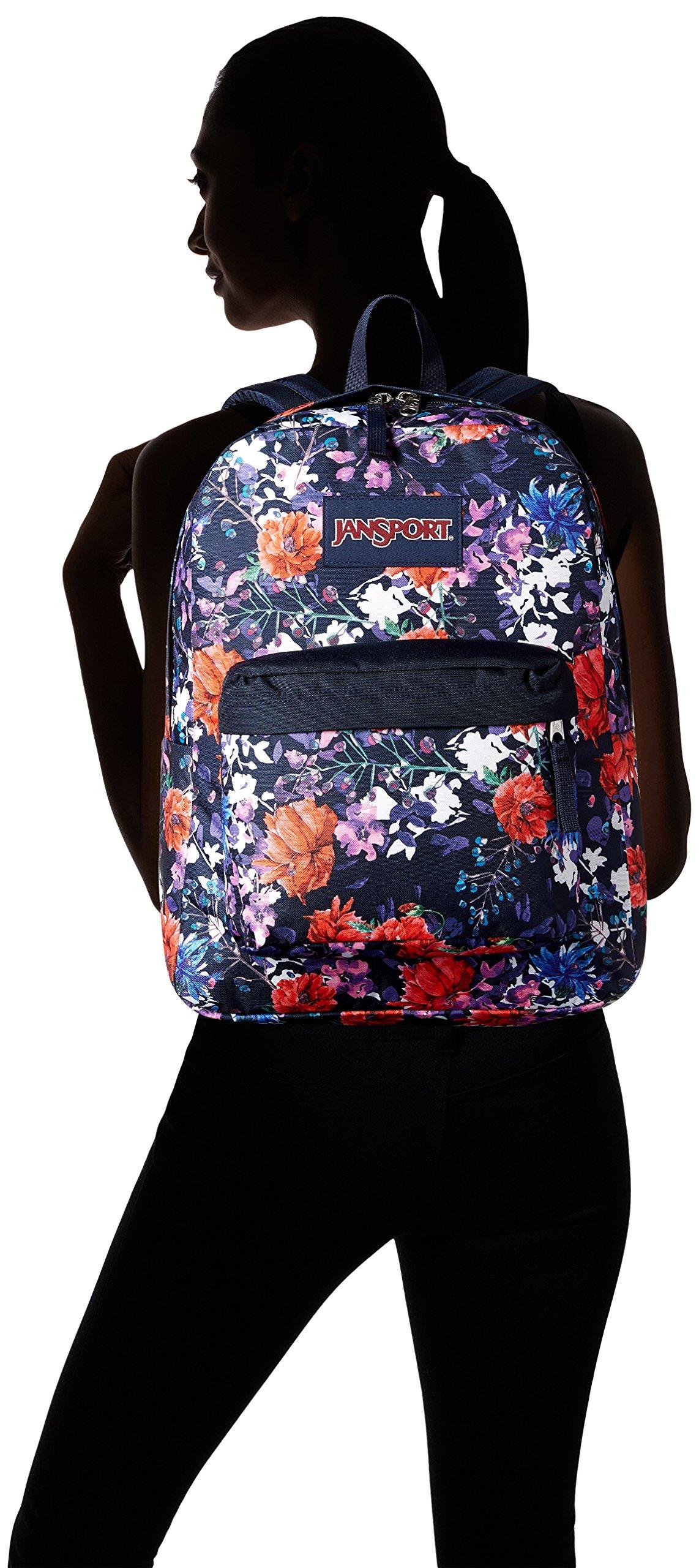 JanSport Superbreak Backpack- Sale Colors (Morning Bloom) by JanSport (Image #4)