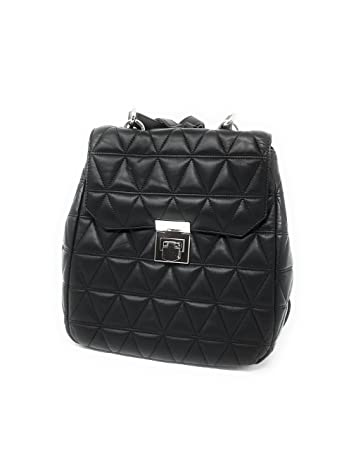 e0b992f4f8e0 Amazon.com | MICHAEL Michael Kors Vivianne Leather Quilted Backpack Black |  Casual Daypacks
