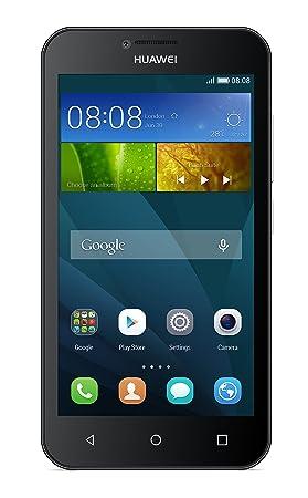 Huawei Y5 8GB Black - smartphones (Android, GSM, HSPA+, UMTS, Micro-USB,  Bar, No subscription)