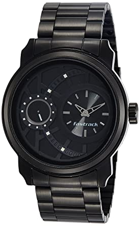 e724a32d54 Buy Fastrack Analog Black Dial Men's Watch-NK3147KM01 Online at Low ...