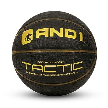 Amazon.com: Balón de baloncesto táctico Softech de goma AND1 ...