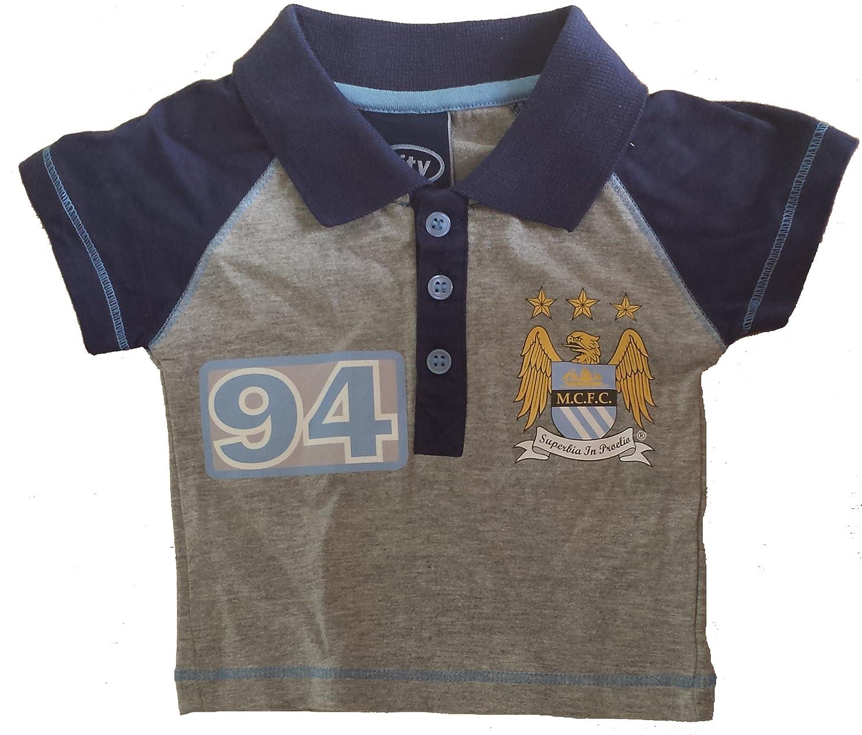 Manchester City FC - Polo (edad 3 - 6 meses): Amazon.es: Deportes ...