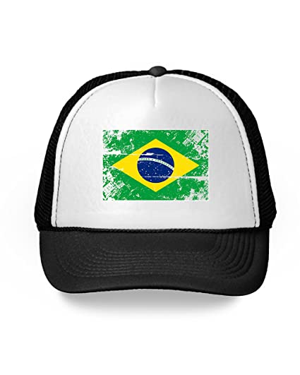 34765f03487 Awkward Styles Brazil Hat Brazil Trucker Hat Soccer Brazilian Flag Gifts  Black One Size