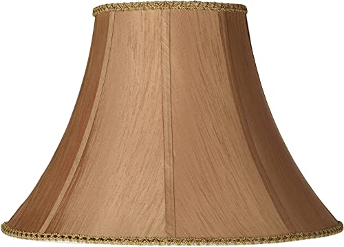 Earthen Gold Round Bell Lamp Shade 8x18x13 Spider – Springcrest