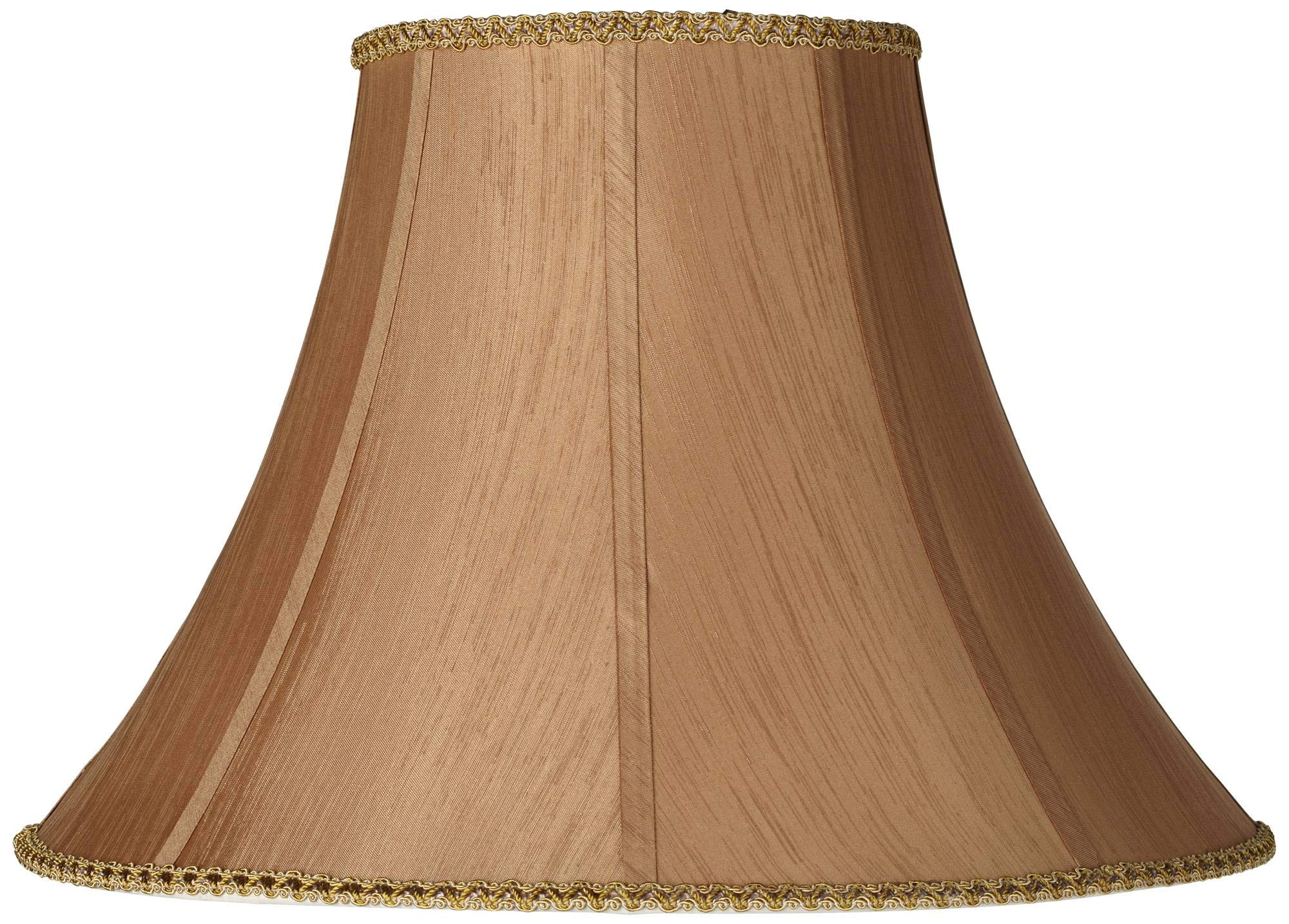 Earthen Gold Round Bell Lamp Shade 8x18x13 (Spider) - Springcrest