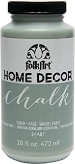 product image for FolkArt Home Decor Chalk Furniture & Craft Paint in Assorted Colors, 16 ounce, Sage