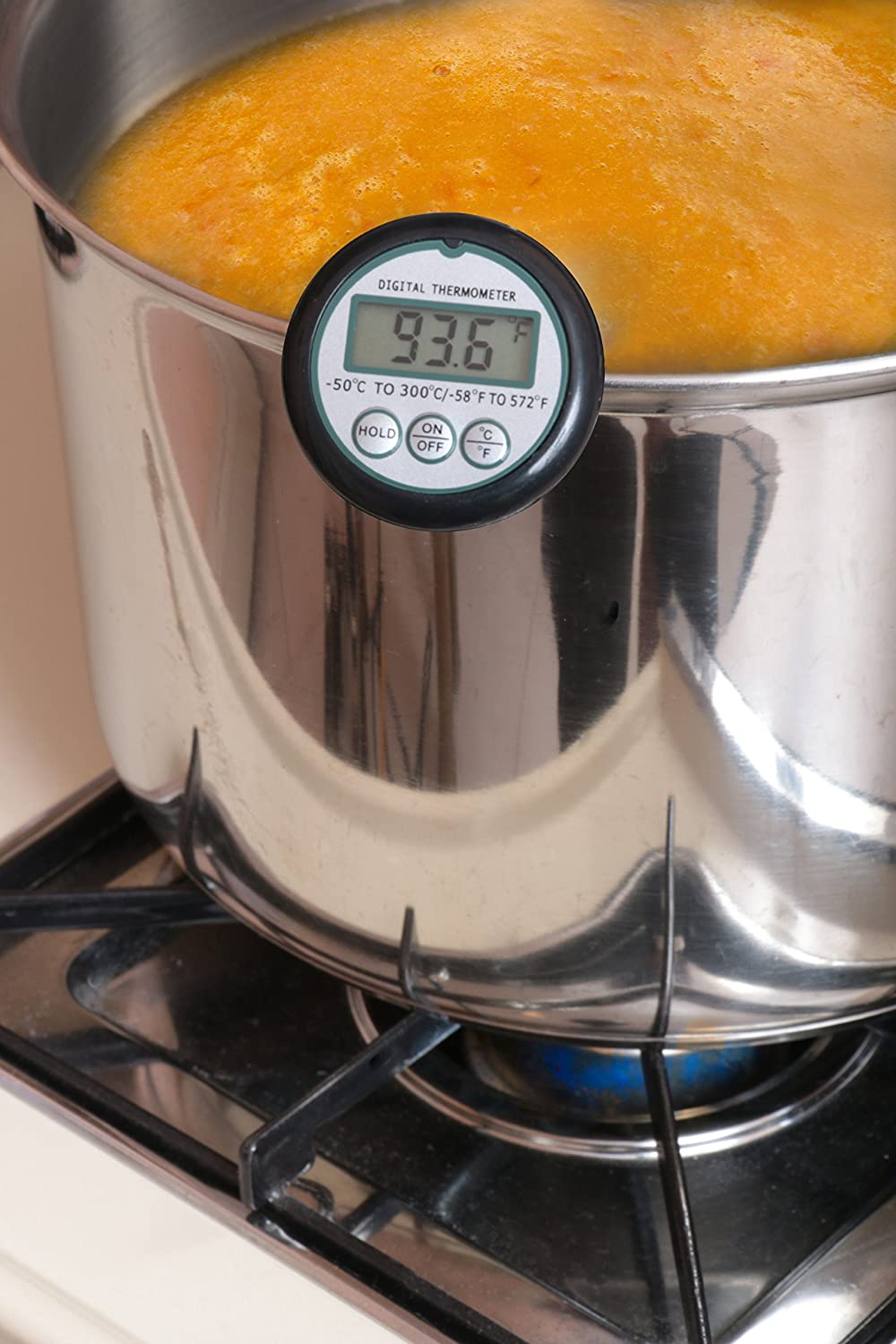 Amazon.com: Digital Cooking Candy Liquid Thermometer with Stainless ...
