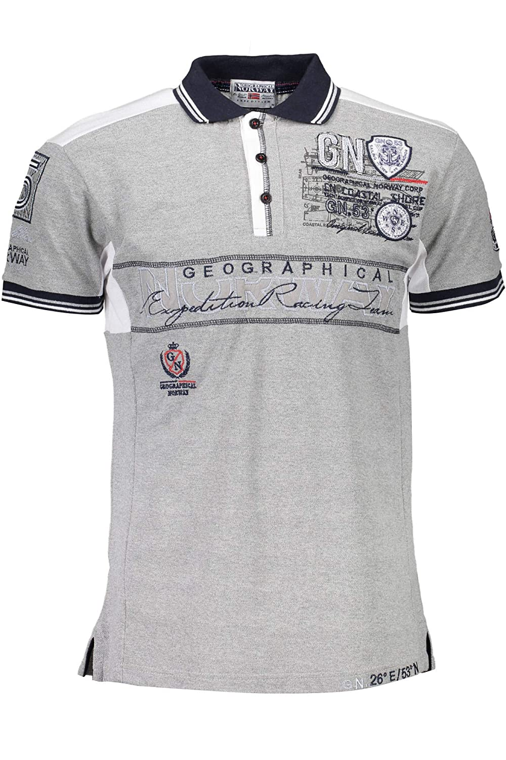 GEOGRAPHICAL NORWAY POLO MANICHE CORTE Uomo: Amazon.es: Ropa y ...