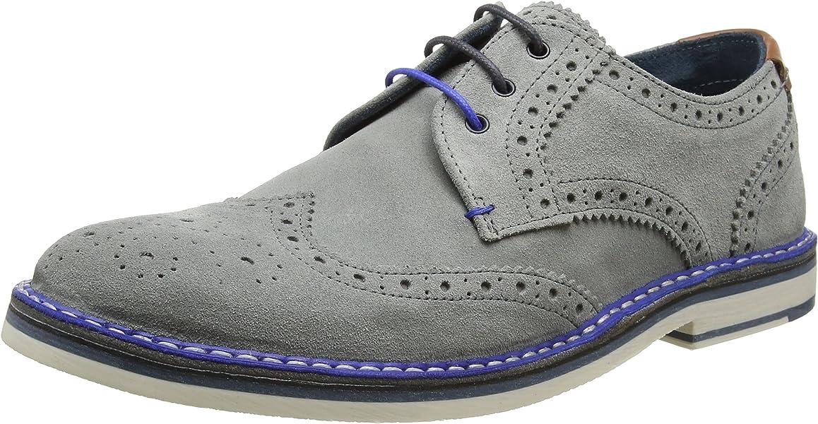 3b1998551 Ted Baker Reith 2 Mens Brogues Light Grey - 7 UK  Amazon.ca  Shoes    Handbags