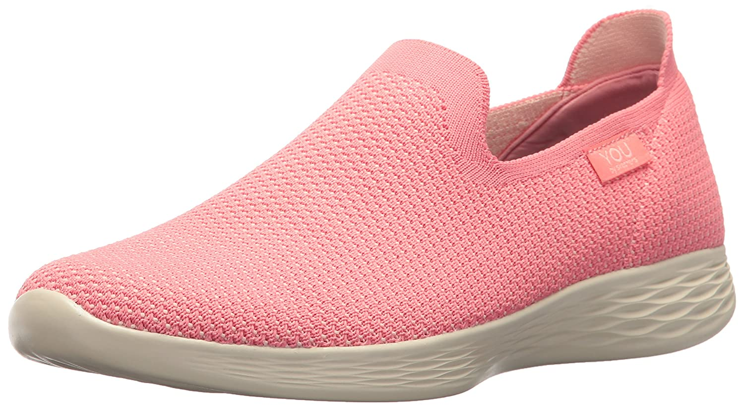 Skechers Women's You Define Sneaker B071WY9BVH 6.5 B(M) US|Pink