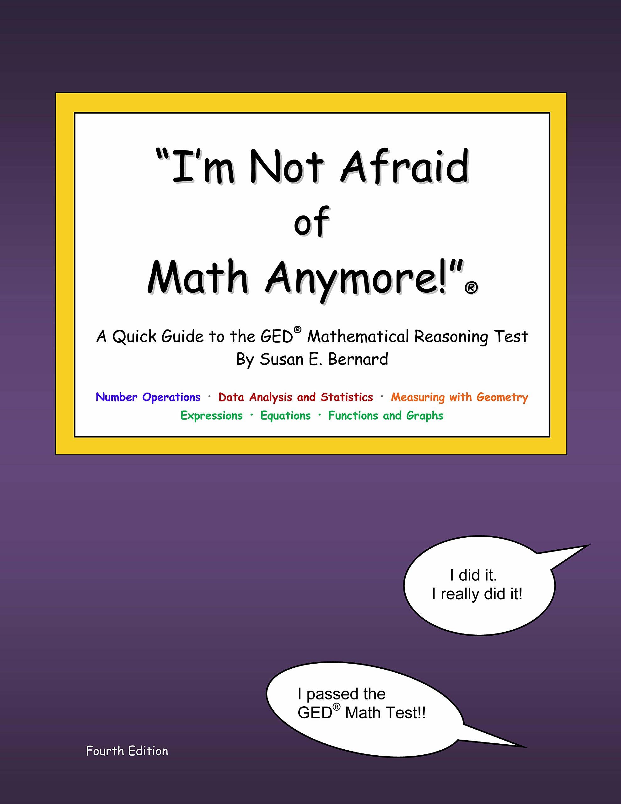 I\'m Not Afraid of Math Anymore!\
