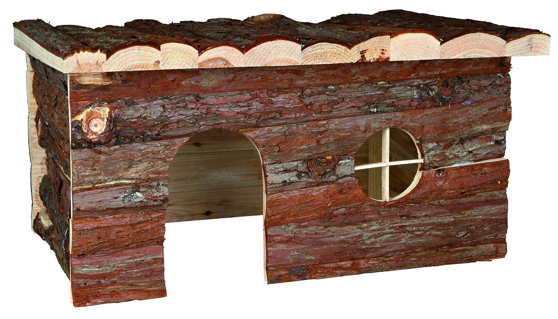 Trixie 62184 Natural Living Jerrik Blockhaus, 50 × 25 × 33 cm ...