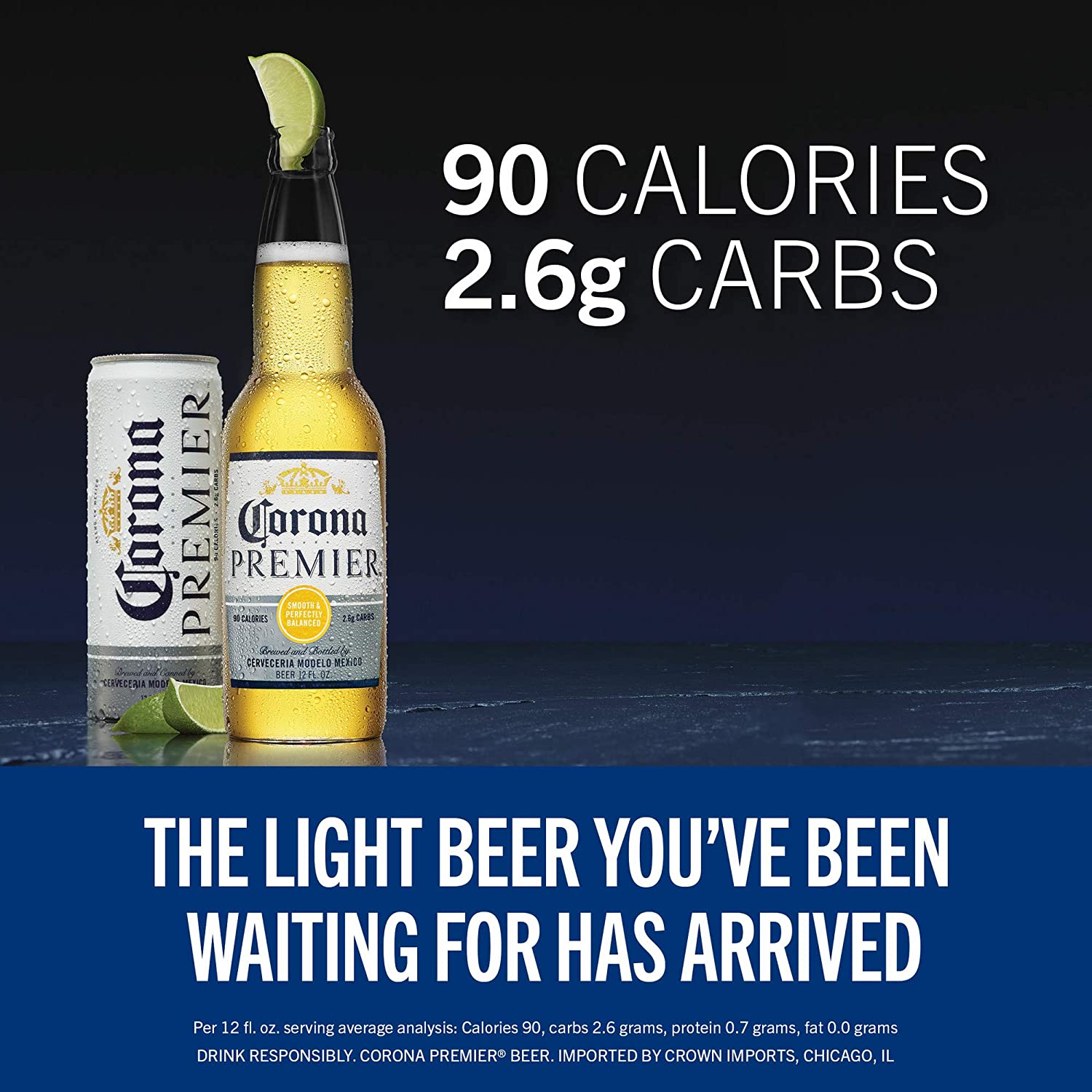 corona 12 fl oz calories