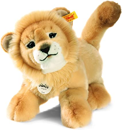 Blond Steiff Leo Dangling Lion Plush