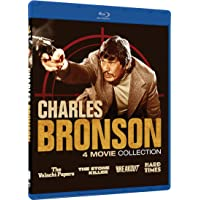 Charles Bronson 4 Movie Collection on Blu-ray