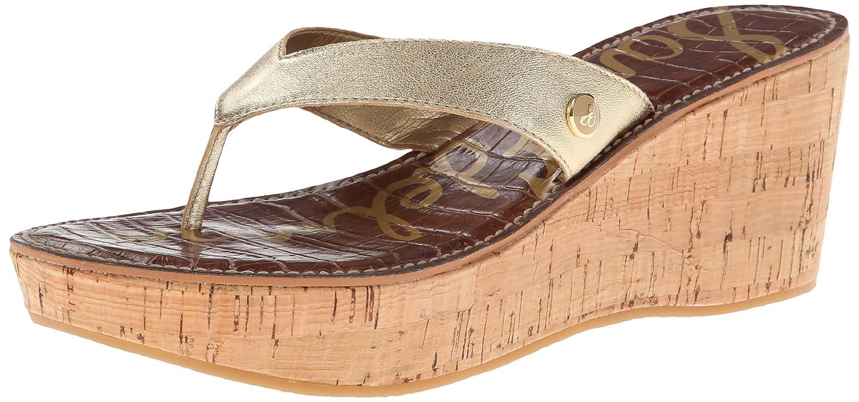 0bddb60ef0 Amazon.com | Sam Edelman Women's Romy Thong Sandal | Platforms & Wedges