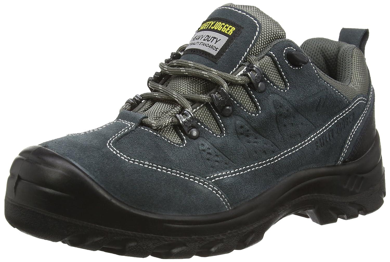 Safety Jogger KRONOS, Unisex - Erwachsene Arbeits & Sicherheitsschuhe S1, grau, (blk/dgr/mgr 112), EU 42 42|Gris