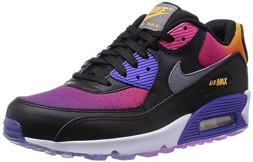 finest selection 4a8f4 d4ff9 Nike Men s Air Max 90 SD, BLACK COOL GREY-PERSIAN VOLT-PINK FORCE, 6 M US   Amazon.ca  Shoes   Handbags
