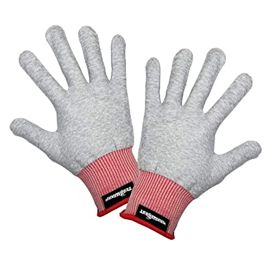 TECKWRAP Grey Professional Vinyl Wrap Anti-Static Application Gloves (2 Pairs/Pack): Automotive