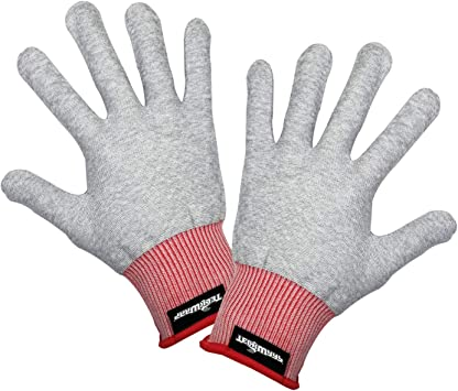 VViViD Grey Professional Vinyl Wrap Anti-Static Applicator Glove Pair 2 Glove Pack