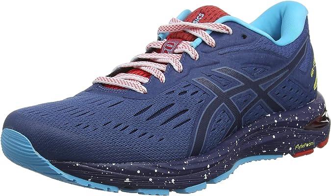 Asics Gel-Cumulus 20 Le, Zapatillas de Running para Mujer, Azul (Grand Shark/Peacoat 400), 36 EU: Amazon.es: Zapatos y complementos